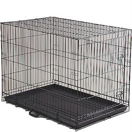 Economy dog crate large the german shepherd store for Wifi dog crate